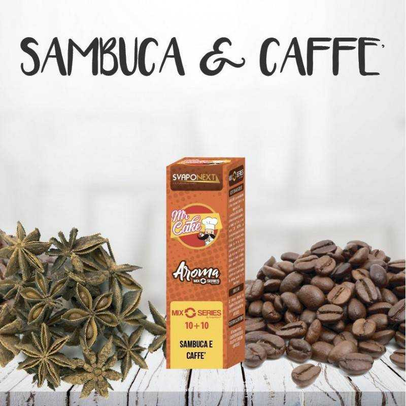 SAMBUCA E CAFFE 10+10 ML MIX SERIES MR.CAKE - SVAPONEXT
